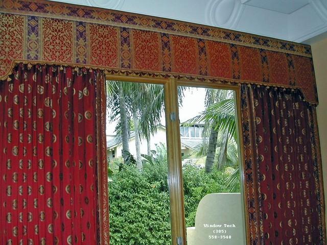 Glendale upholstered cornice boards