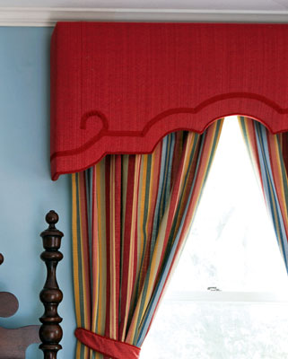 Glendale Upholstered-cornice-boards